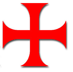 Knights Templar cross (croix pattee)